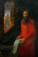 "The quartet ""Sergius of Radonezh"" (canvas/oil 0,68x1,00-94 y.) © Nikolai Shmatko"