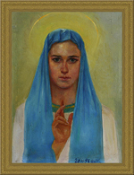 The Most Holy Mother of God (canvas/oil, 55x40-93 y.) © Nikolai Shmatko